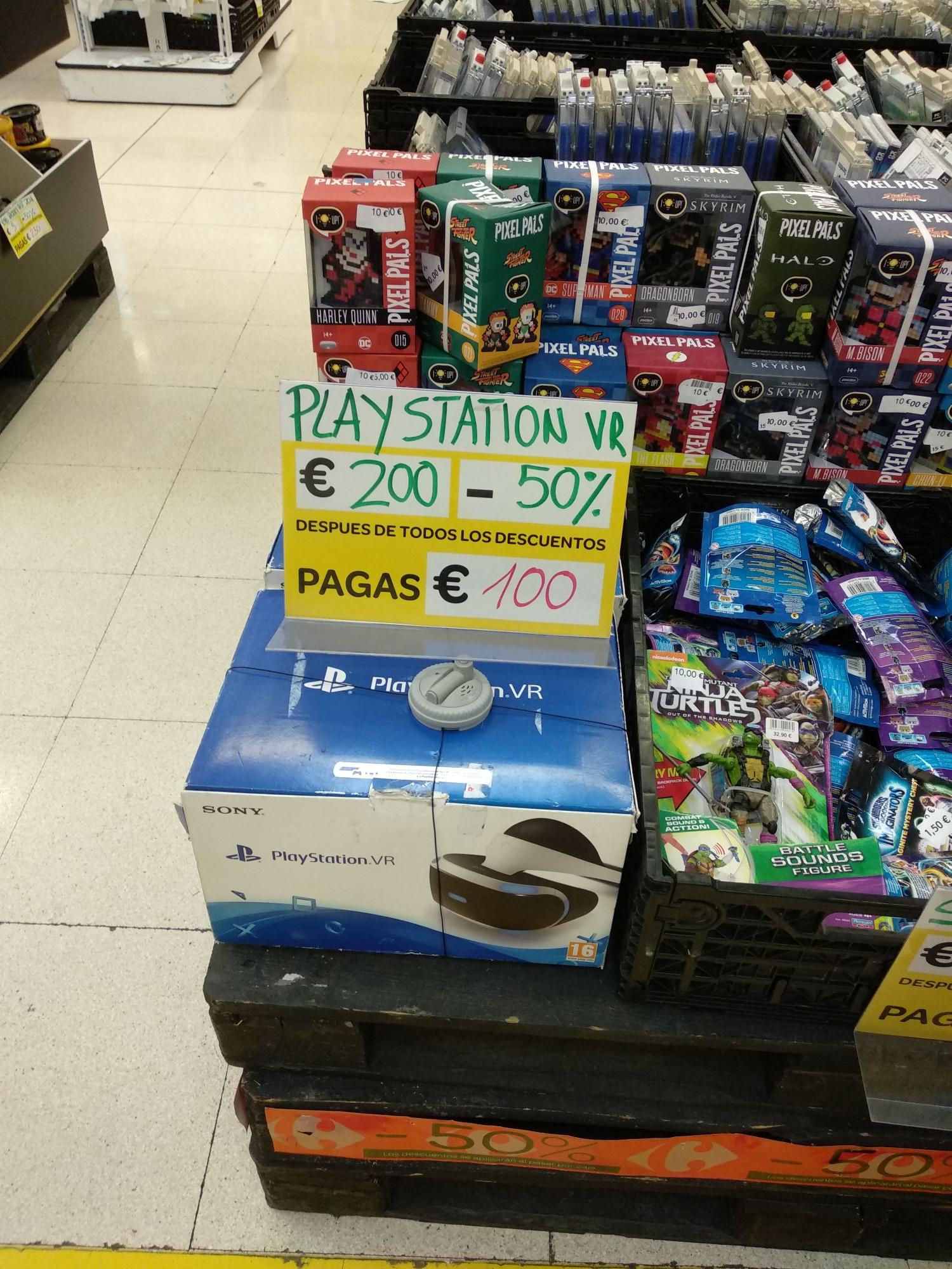 PlayStation Vr Carrefour de Zaragoza (Augusta)