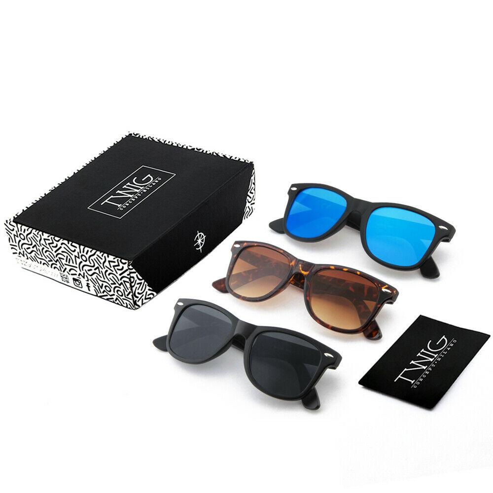 Pack Tres gafas de sol TWIG DIRAC espejo hombre/mujer