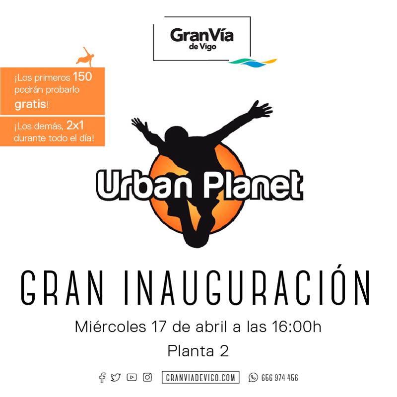 Entrada gratis urban planet!!!