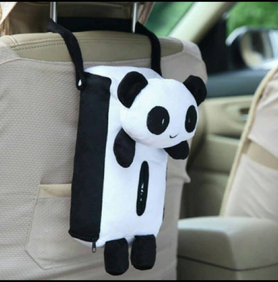 Caja de pañuelos para el coche