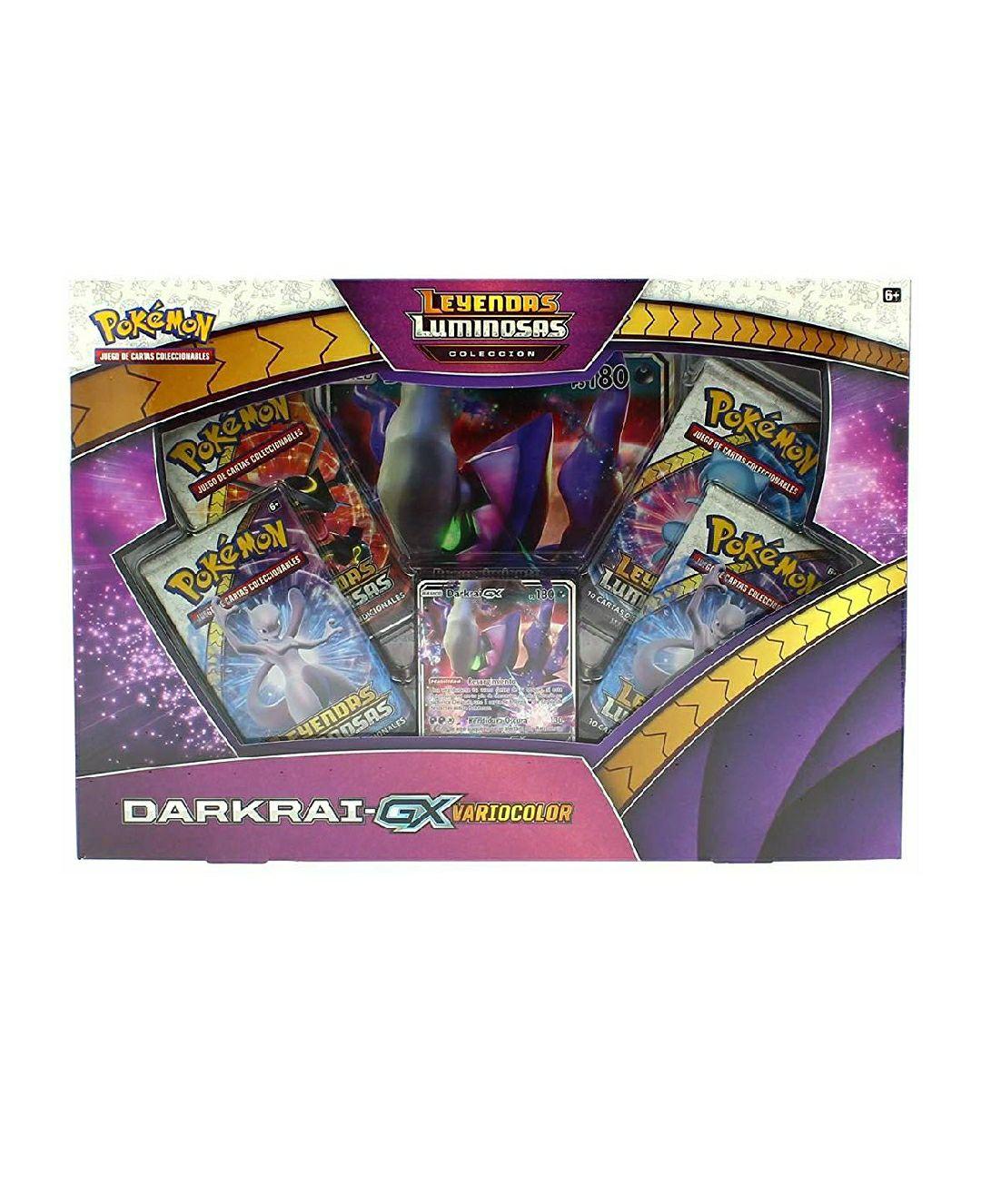 Pokemon JCC Pokemon - Colección Darkrai GX Variocolor de Leyendas Luminosas - Español