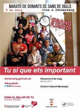Maratón de Sangre  - entradas para el cine y mas.... GRATIS por donar sangre (Valls- Tarragona)