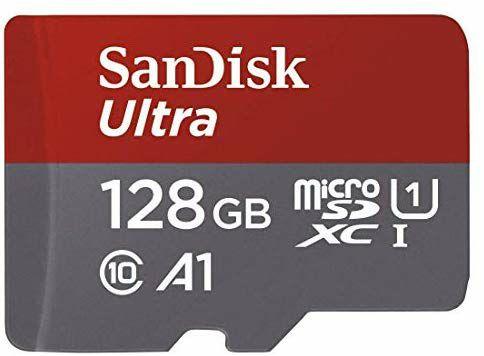 Tarjeta microSD 128 GB + Adaptador
