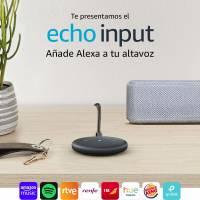 Nuevo Echo Input por 19,99€ - Al comprar un altavoz (selección)
