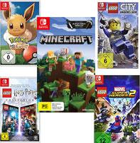 5 juegos para Nintendo Switch a 100€ + envío