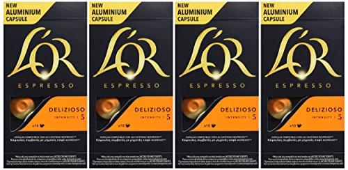 40 cápsulas L'Or Café Espresso Delizioso