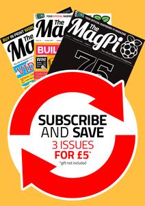 3 revistas MagPi solo £6 (-70%)