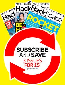 3 revistas HackSpace por £6 (-70%)