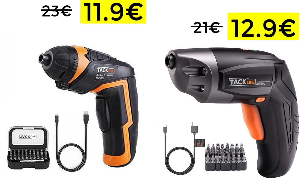 Atornillador eléctrico solo 11.9€