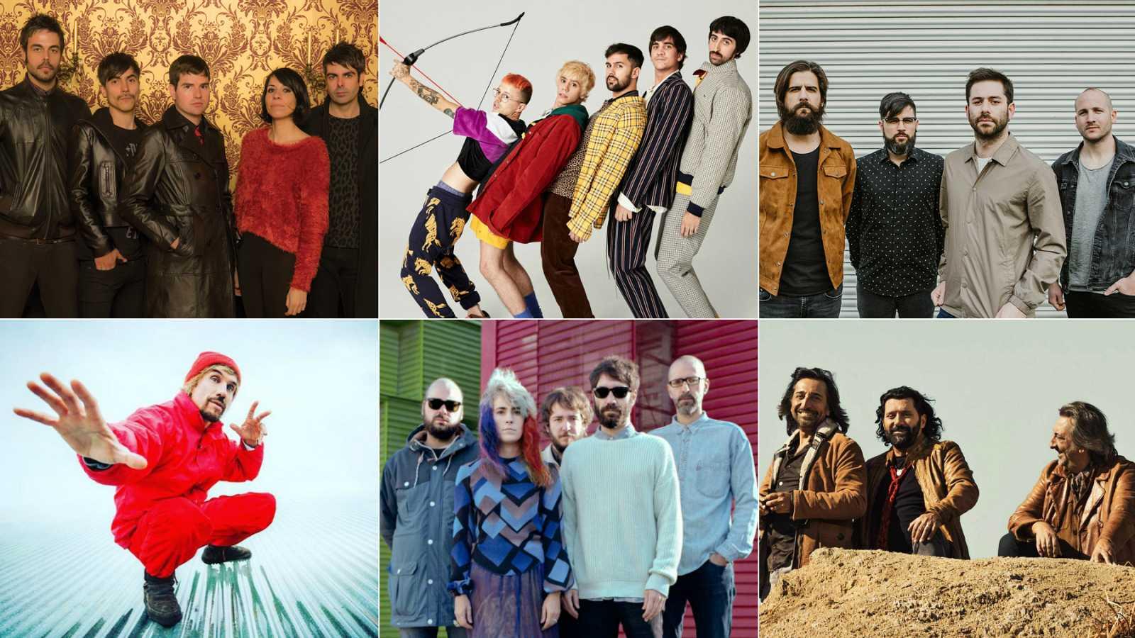 RADIO 3 (08/05 en Madrid): Ketama, Macaco, Viva Suecia, Los Punsetes, Cupido y Dorian (GRATIS)