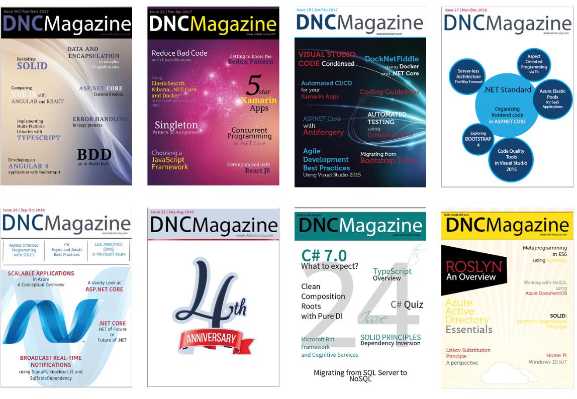 Revistas gratis .NET & JavaScript para Desarrolladores