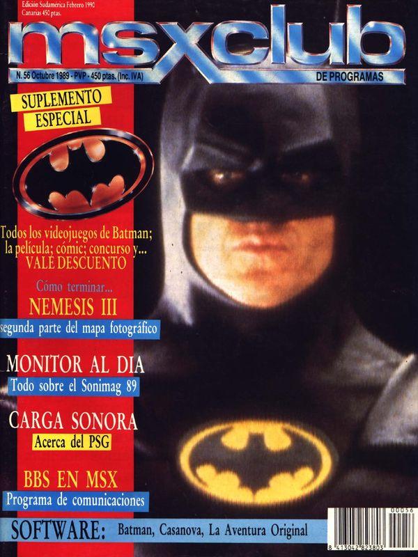 Revista MSX Club, para los amantes de la historia de los video juegos (Español)