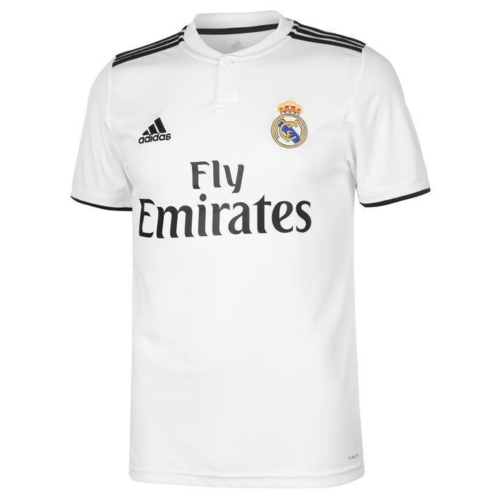 Camiseta del Madrid 2018-2019 a mitad de precio.