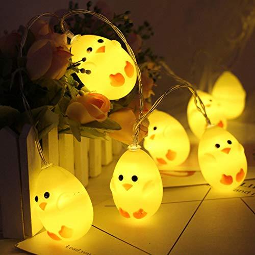 Pollito de luces led para pascua