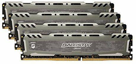 Kit de memoria RAM Ballistix Sport de 32 GB DDR4