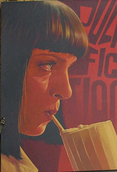 Posters Retro Papel Kraft (42x30)