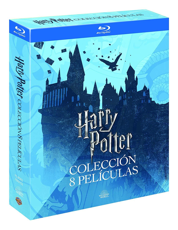 Saga completa de Harry Potter en Blu-ray por 32,99€ o 18,40€ (1-6 en español y 7-8 en italiano)