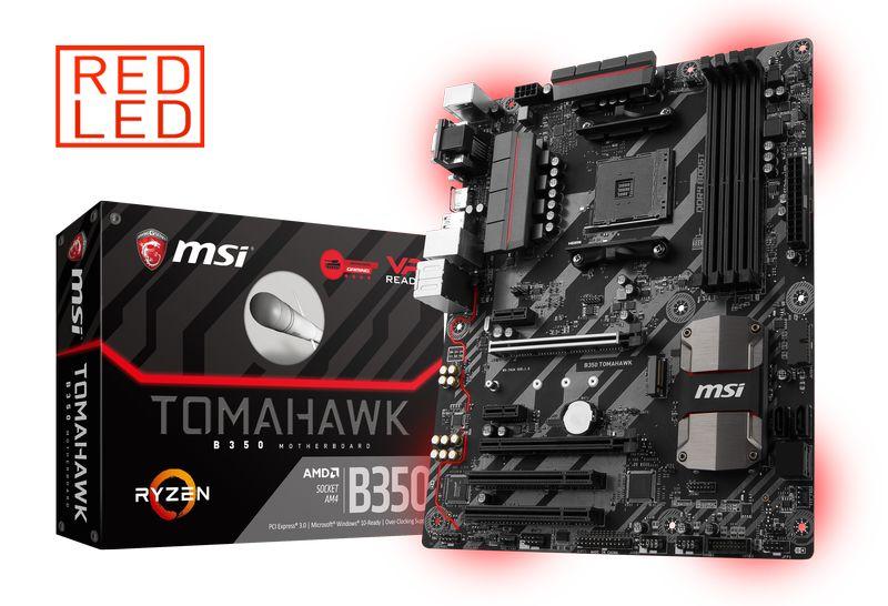MSI B350 TOMAHAWK Socket AM4 - Reacondicionado