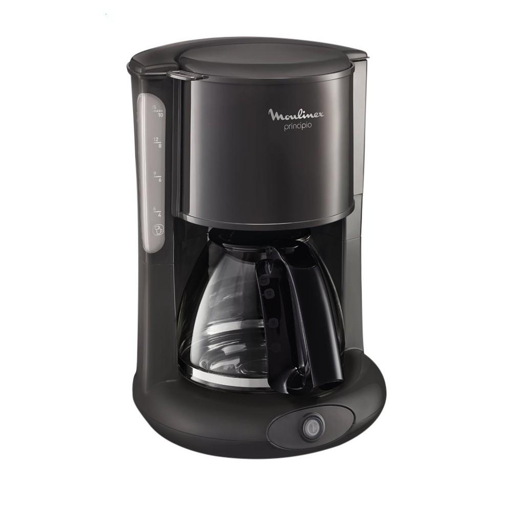 Cafetera Filtro Moulinex FG260B00 Principio 3 15T Gris/Negro EU