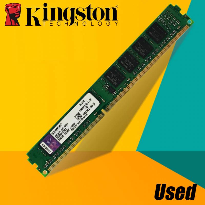 Desguace de memorias Kingston DDR2 y DDR3 desde 2GB 667 MHz hasta 8GB 1600 MHz