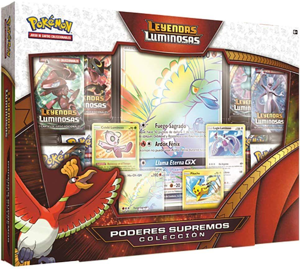 Pokemon JCC Colección Poderes Supremos de Leyendas Luminosas