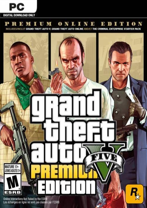 Grand Theft Auto V Premium Online Edition + Criminal Enterprise Starter Pack  ($11 millones )
