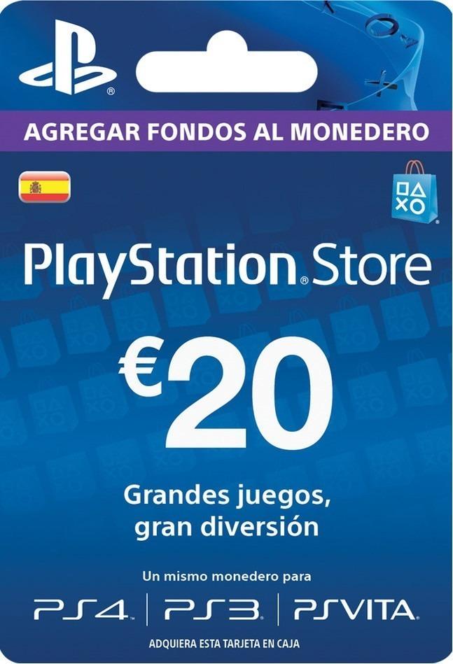Paga 16€ por una Tarjeta de 20€ (PSN)