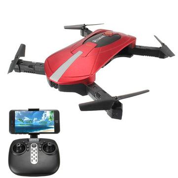 Eachine E52 WiFi FPV Selfie Drone con Modo de Alta Retención Plegable Brazo RC Quadcóptero RTF