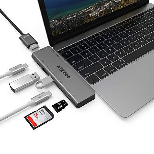 ATZEBE Hub USB C para MacBook Pro
