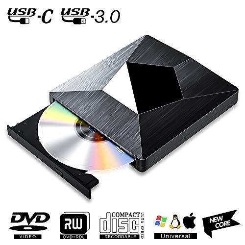 Lector CD DVD Externo USB 3.0.