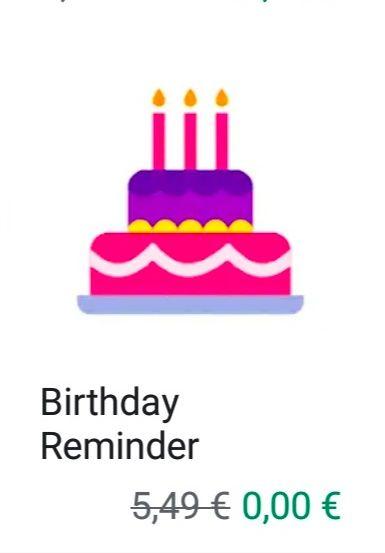 Fechas de cumpleaños