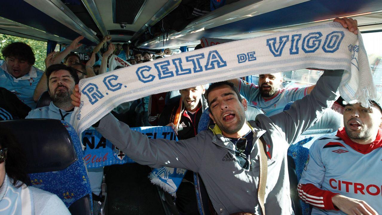 Autobuses gratis para acompañar al Celta en su visita a Leganés para abonados