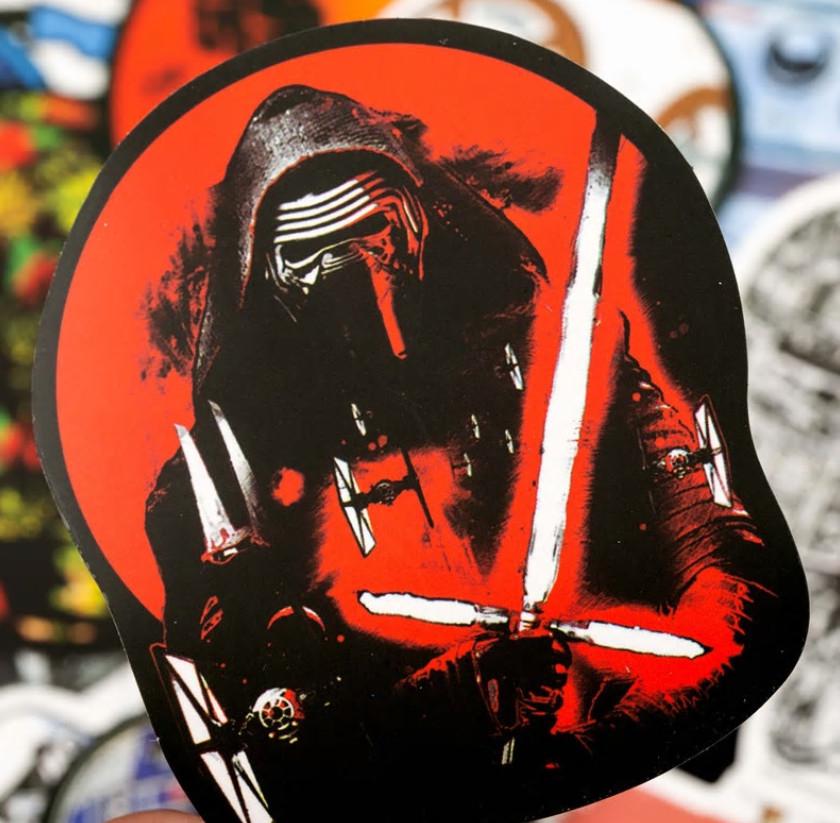 50 pegatinas de Star Wars por sólo 1,47€