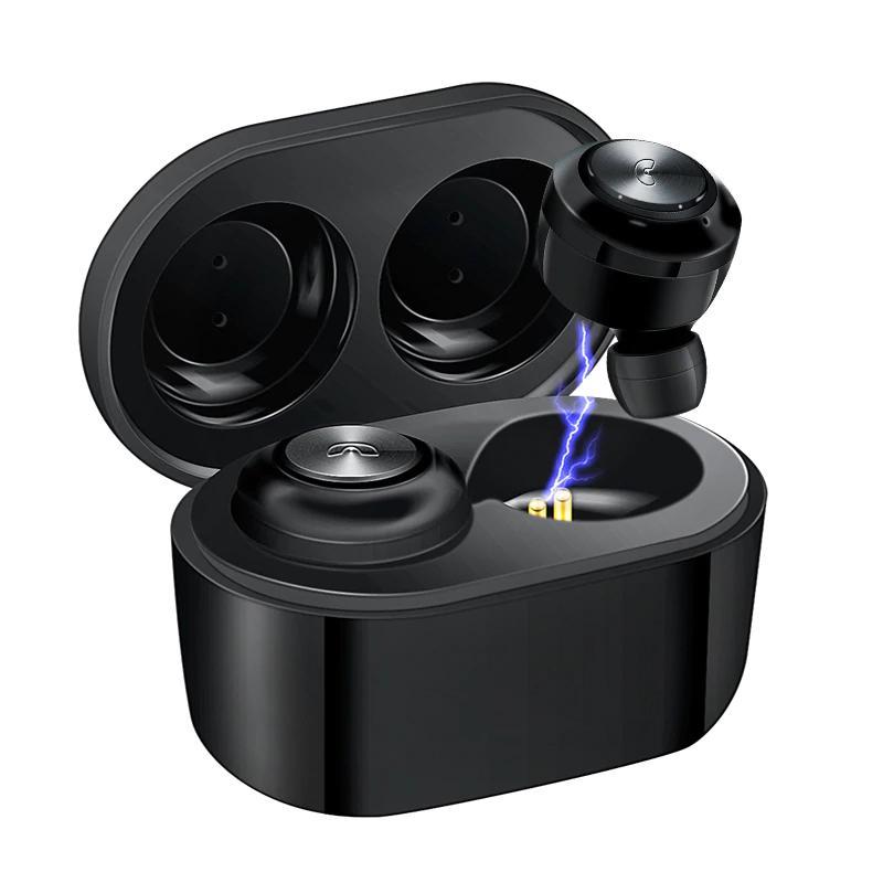 Auricular Bluetooth con carcasa de carga