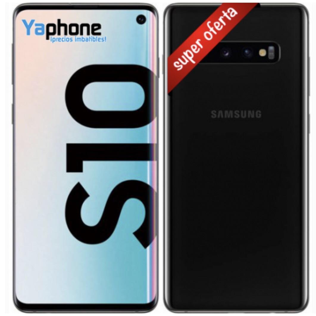 Samsung s10 G973F 128GB 8GB RAM Dual SIM Negro Prisma
