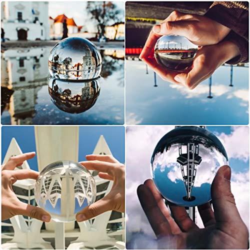 Bola de Cristal con soporte para fotografía o decoración