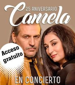 Concierto GRATUITO Camela 25 Aniversario Laredo Cantabria
