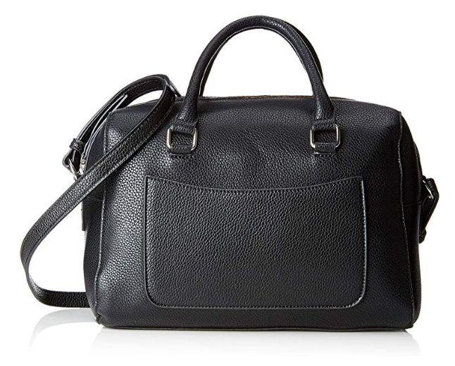 Pieces bolso negro shopper 16x20x29cm
