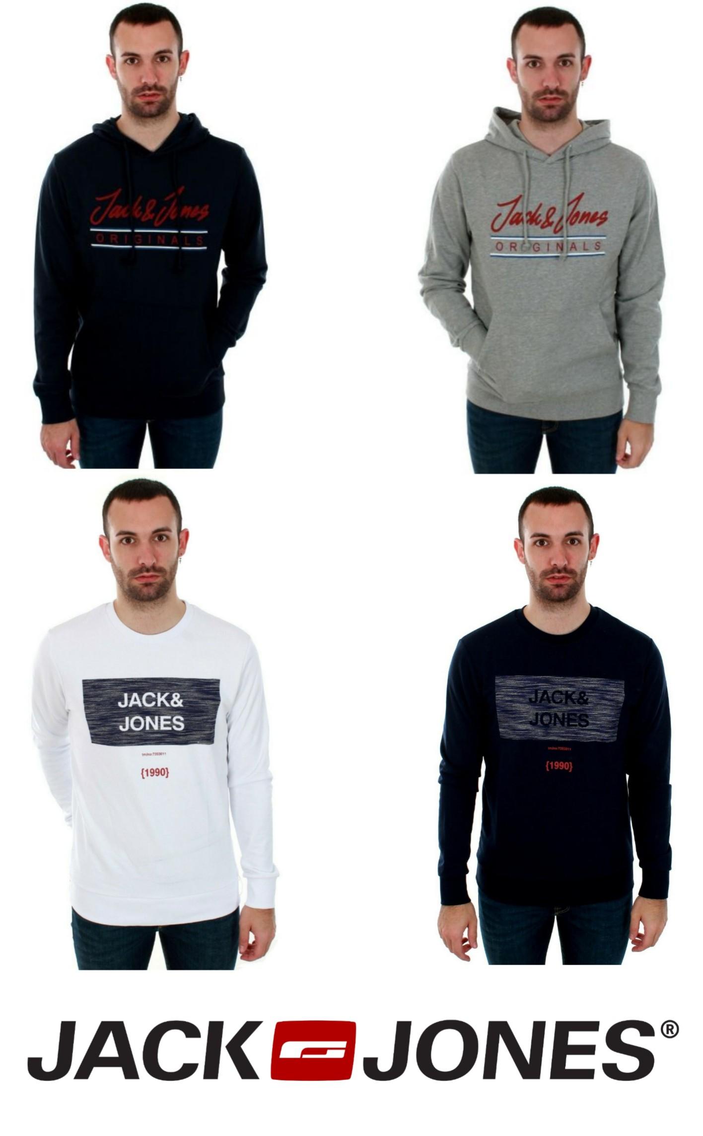 Sudaderas Jack&Jones. 4 modelos.