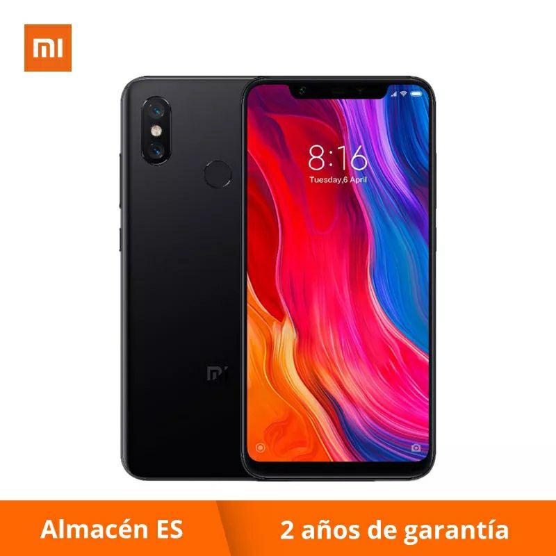 Xiaomi Mi 8 6/64 GB desde España (Aliexpress Plaza)