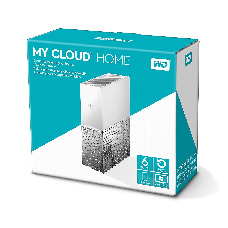 Western Digital My Cloud Home - NAS de 6 TB