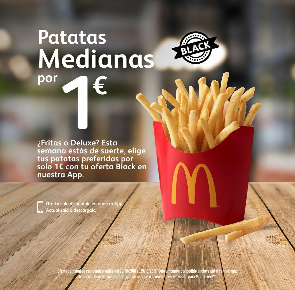 Patatas medianas 1€