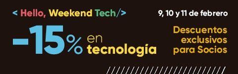 15 % de descuento en tecnología en Fnac