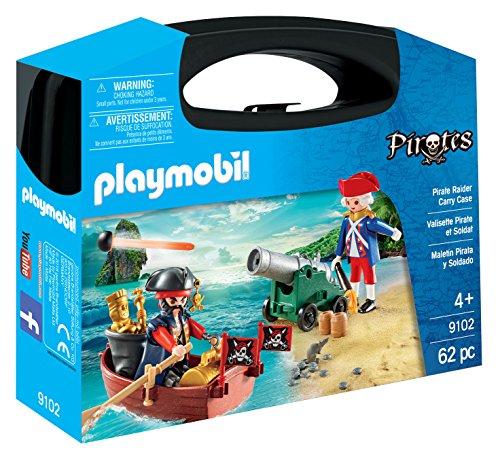 Playmobil - Maletín Grande Pirata y Soldado