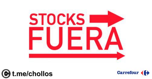 Stock Fuera Carrefour