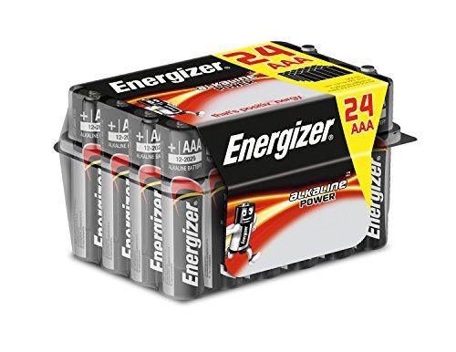 Pack de 24 Pilas alcalinas AAA Energizer a preciazo