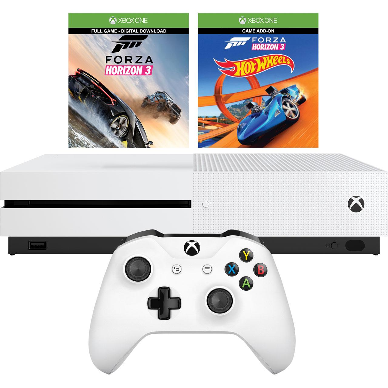 Xbox One S +2 juegos solo 243€