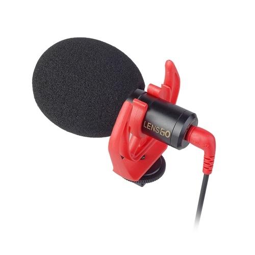 LENSGO LYM-DMM1 Micrófono de condensador direccional