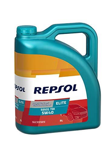 Aceite sintetico coche REPSOL ELITE 50501 TDI 5W40