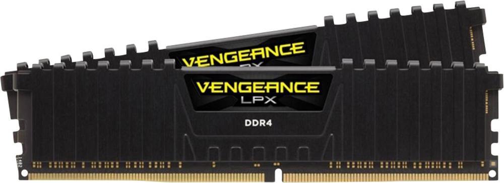 Corsair Vengeance LPX Black Ryzen 16GB (2x8GB) 2400 Mhz (PC4-19200) CL16 - Memoria DDR4